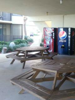 Cool off in the shaded area next to the main pool. Snacks Drinks & ATM availale