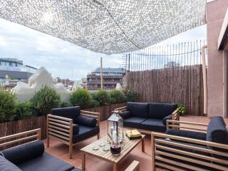 Luxury Central Penthouse 2 terraces & 2 bedrooms, Barcelona