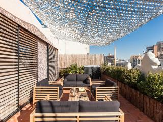 Luxury Central Penthouse 2 terraces & 2 bedrooms, Barcelone