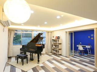 Elegant Spacious 4BR Taipei Music Guest House, Taipéi