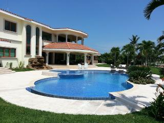 Lakefront Mansion at The Buenaventura Golf & Beach Resort Gated community.