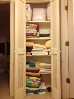 Linen closet / second floor