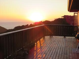 Dawn ocean
