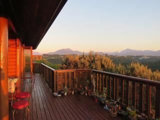 Dawn mountains