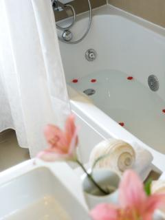 Bathroom with Hydromassage bathtub