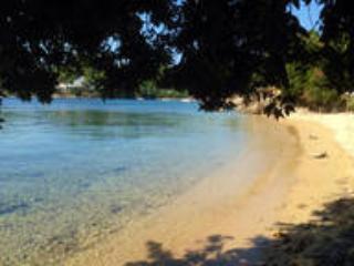 On the beach, 12 people villa, Skiathos