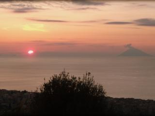 View of Stromboli Volcano from Tropea