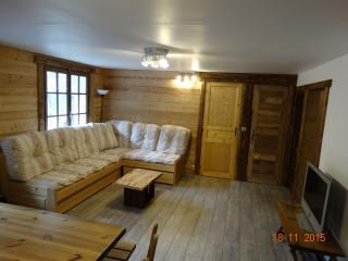 Le cocon des neiges, appartement 3 pièces., Les Contamines-Montjoie
