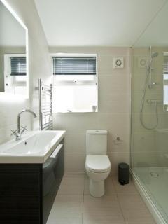 Main family shower room.