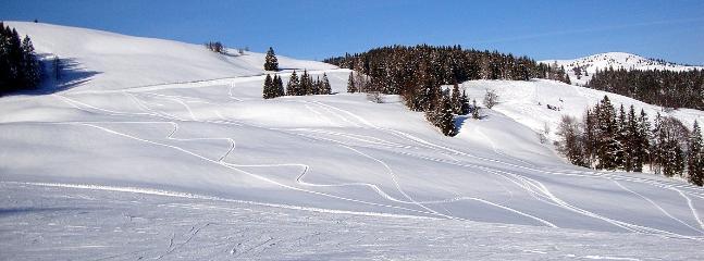 Postalm. Strobl's skiing area