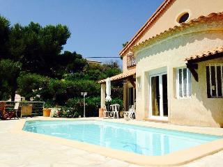 """""""Les Roches"""" Villa piscine 8 pers. Cassis PortMiou"""