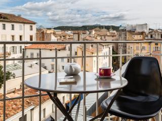 Appartement 65m² centre Clim 2 Chambres Balcons, Aix-en-Provence