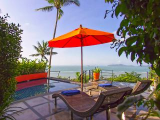 Magnificent Ocean View Spacious One Bedroom Villa, Laem Set
