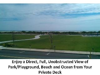 Beautiful Ocean/Beach Front 3 BR Condo with Pool, Wildwood Crest