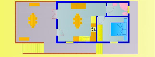 Floorplan of the apartment.