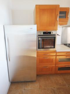 Fully equipped Kitchen with the fridge , the oven , the dishwasher ....