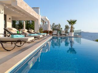 Luxury Villa Afsana, 4 bedrooms, sea views, private pool very close to the town