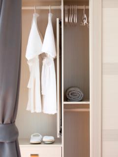 Seawadee provides bath robes and sleepers