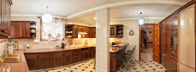 40 square meters fully equiped kitchen