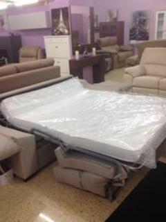 Sprung Base with part memory foam matress