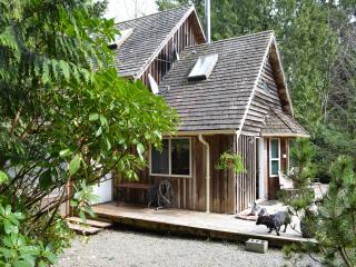 Cute Cedar Cabin with Hot Tub Downtown Tofino