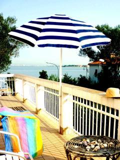 romantica terrazza che guarda la laguna di San Marco dove mangiare o dormire sotto le ... stelle!