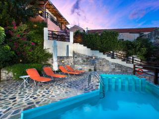 TRADITIONAL VILLA  ZOI PRIVATE POOL SLEEPS 2 - 8, Tzitzifes