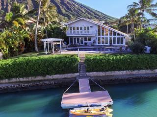 Just another beautiful day at the Villa. Sit at your private pool or kayak from the private dock!