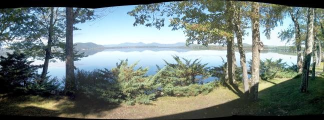 Serenity and beauty in all directions from the deck--Panorama view from deck