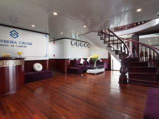 Deluxe Family Cabin on Halong Silversea Cruise