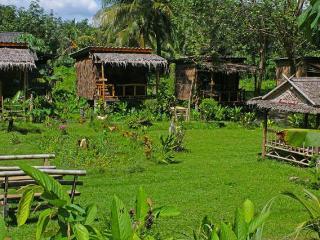 Stunning bamboo bungalows in the forest garden, Ko Lanta