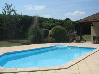 Les Pieces du Moulin Villa  with Private Solar Heated Pool