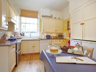 Dining kitchen with fan oven, halogen hobs, dishwasher, microwave etc.