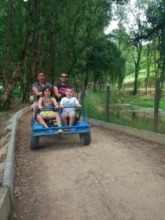 Fun for all at nearby adventure park in St Nicholas