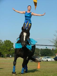 Part of our annual Country Circus Show