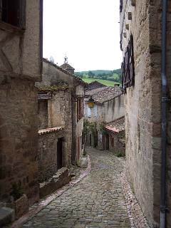 A street in medieval Penne