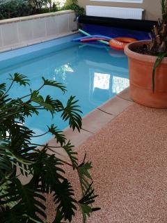 maison avec piscine interieure chauffée, Etretat