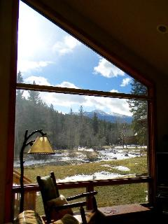View of Long's Peak from the living room