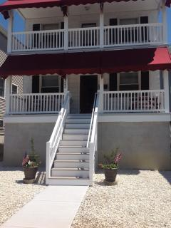 OC Beach House - 700' to the beach!. Equipped with stair glides to the porches.