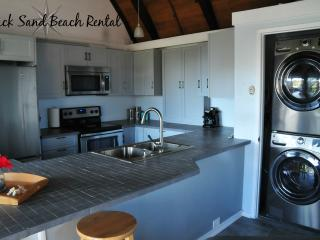 Black Sand Beach Rental at Sea Mountain, Pahala