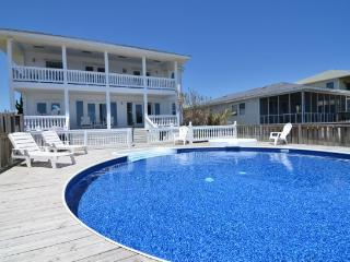 Vitamin Sea...Oceanfront House with Pool, Carolina Beach