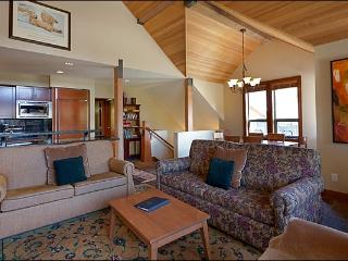 Large Vaulted Ceilings are Featured in the Living Area