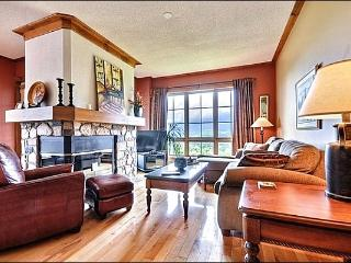 Breathtaking Mountain Views from Private Balcony - Upscale Decor Throughout  (6073), Mont Tremblant