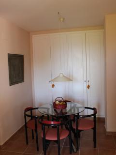 dining area in separate apartment