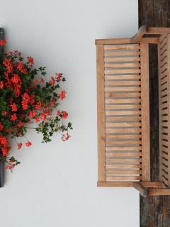 Horský apartmán Vyhlídka, Rejvíz, venkovní posezení
