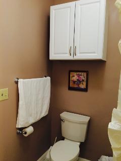 Towel Cabinet, Hair Dryer