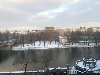 WINTER 50% OFF !!  AMAZING  River View  3 bedroom 1.5 Bath 160 M2, Prague