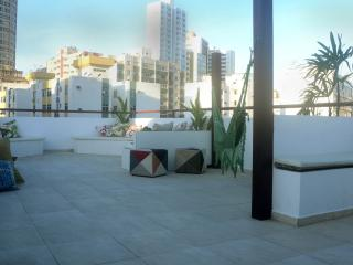 Modern 2 bed Apartment with spacious Roof Terrace