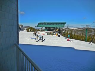 1BR/1BA Faces Slopes & Ballhooter Chair-Lift - Wi-Fi - Walk to Village!, Snowshoe