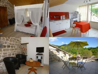 Gîte 2 places - Ardèche - Tout confort - Climatisé, Chassiers